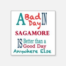 "Sagamore Square Sticker 3"" x 3"""