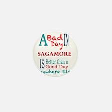 Sagamore Mini Button