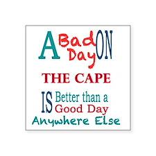 """The Cape Square Sticker 3"""" x 3"""""""