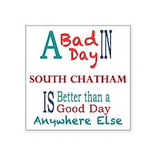 "South Chatham Square Sticker 3"" x 3"""