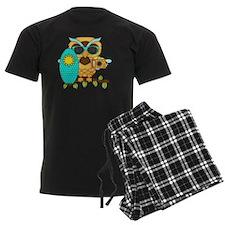 Surfin Boy Owl Pajamas