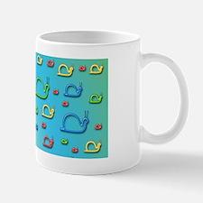 Colorful snails Mug