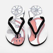 stan-bike-T Flip Flops