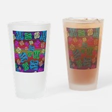create Reality Drinking Glass