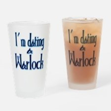 Dating a Warlock Drinking Glass