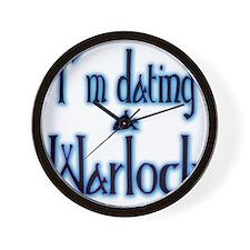 Dating a Warlock Wall Clock