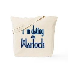 Dating a Warlock Tote Bag