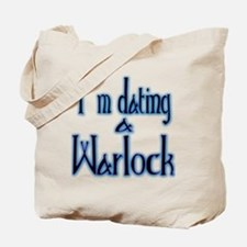 Dating a Warlock Tote Bag