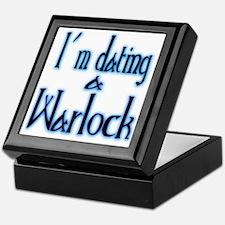 Dating a Warlock Keepsake Box