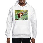 Irises & Beagle Hooded Sweatshirt
