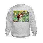 Irises & Beagle Kids Sweatshirt