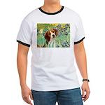 Irises & Beagle Ringer T