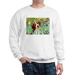 Irises & Beagle Sweatshirt