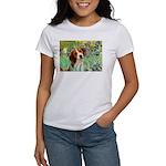Irises & Beagle Women's T-Shirt