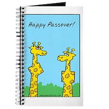 giraffes passover Journal