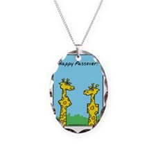 giraffes passover Necklace