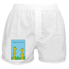 giraffes passover Boxer Shorts