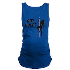Got Pole Maternity Tank Top
