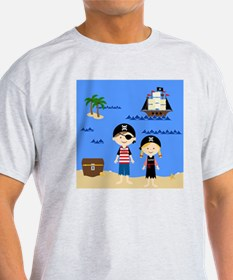 Pirate Kids Alistair  Isabel T-Shirt
