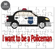I want to be a policeman Puzzle