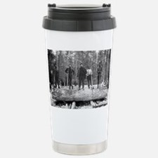 Portrait of Loggers Travel Mug