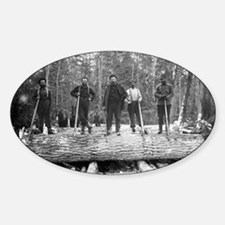 Portrait of Loggers Decal