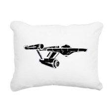 Original Starhip Enterpr Rectangular Canvas Pillow