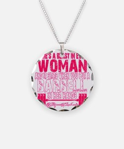 Beast in every woman - Pink  Necklace