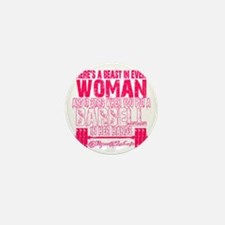 Beast in every woman - Pink Camo Mini Button