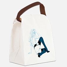 Black Stockings - Blur Canvas Lunch Bag