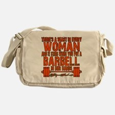 Beast in every woman Camo Hunter Messenger Bag