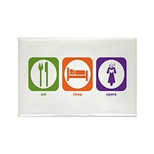Eat Sleep Opera Rectangle Magnet (100 pack)