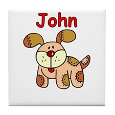 John Puppy Tile Coaster