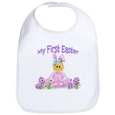 Girl First Easter! Bib