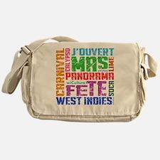 Carnival Keywords Messenger Bag