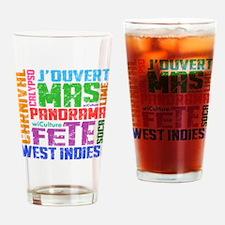 Carnival Keywords Drinking Glass