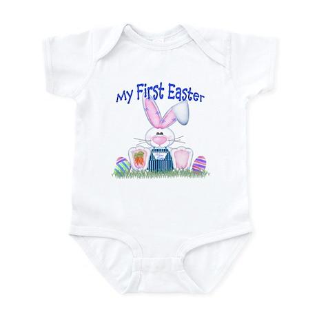 Boy first Easter Bunny! Infant Bodysuit