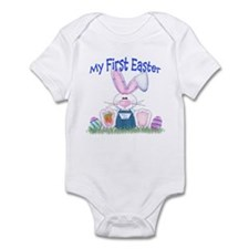Boy first Easter Bunny! Infant Bodysuit
