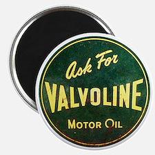Valvoline Vintage dieselpunk signboard Magnet