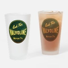 Valvoline Vintage dieselpunk signbo Drinking Glass