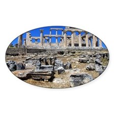 The temple of Athena Aphaea II Decal