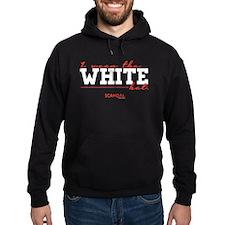 I Wear the White Hat Hoodie (dark)
