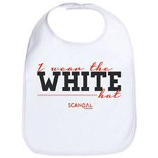 I Wear the White Hat Bib