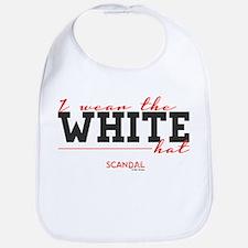 I Wear the White Hat Bib