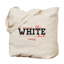 I Wear the White Hat Tote Bag