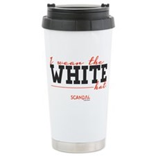 I Wear the White Hat Travel Mug