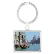 The Grande Canal in Italy Venic Landscape Keychain