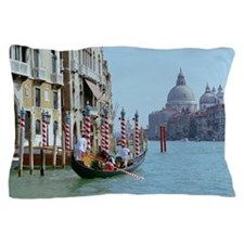The Grande Canal in Italy Venice Pillow Case