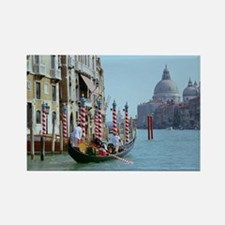 The Grande Canal in Italy Venice Rectangle Magnet