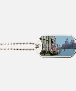 The Grande Canal in Italy Venice Dog Tags
